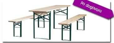 Prireditvene mize in klopi